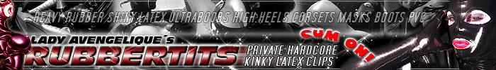 Rubbertits - Shiny, Kinky & Bizarre Latex Sex Clips