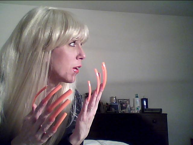 Long Sexy Fingernails Clips