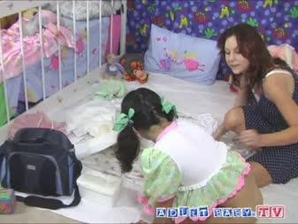 adult babies on tv