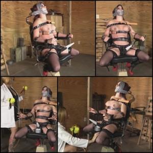 Citizen cane bondage spanking
