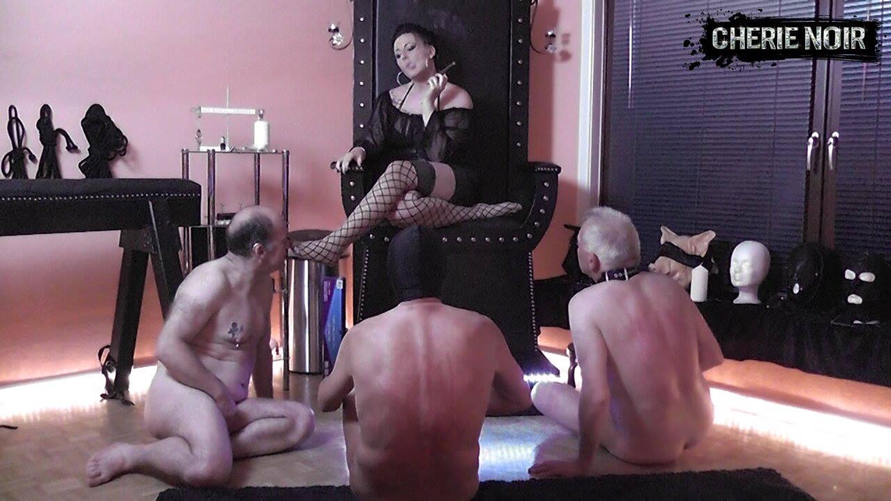Lady Cherie Noir Clips
