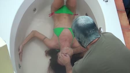 Sucked while ass fucked