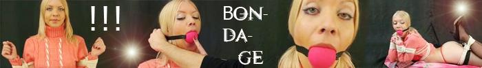 100% Bondage Features 32 Clips that include Bondage Fetish Clothing Amateur Straight BDSM Blondes Bondage Device Casting Dicipline Rope Bondage