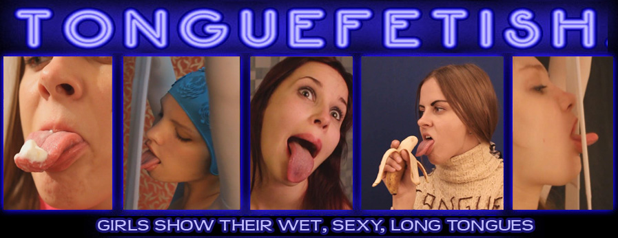 Tongue Fetish Features 4 Clips that include Licking Fetish Amateur Straight Oral Sex Blondes Oral Casting Lipstick Fetish Nylon Fetish