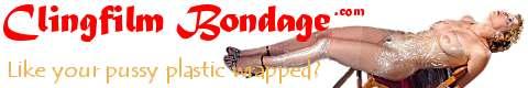 Clingfilm Bondage Features 13 Clips that include Plastic Bondage Shiny Dildo Fucking Dildos Fetish Rope Bondage
