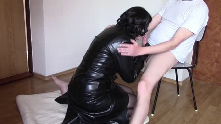 Leather Blowjobs 46