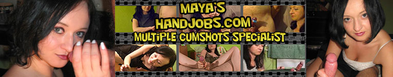 Mayas Handjobs The Multiple Orgasms Specialist Features 87 Clips that include    Amateur    Ball Busting    BDSM    Blowjobs    CBT    CFNM    Cum Shot    Domination    Forced Orgasms    Orgasm Control